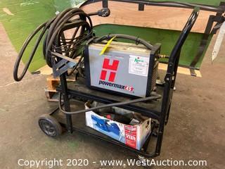 Hypertherm Powermax45 on Cart