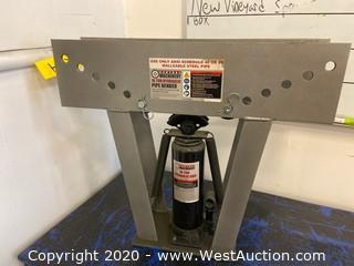 Central Machinery 16 Ton Hydraulic Pipe Bender