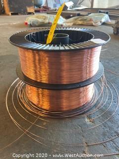 (2) Spools of Prostar S6 Welding Wire