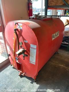 Pul-Blast DS2-3 400 Gallon Sprayer Tank
