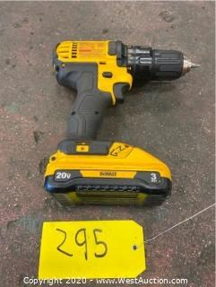 DeWalt DCD780 Cordless Drill Driver, and Battery