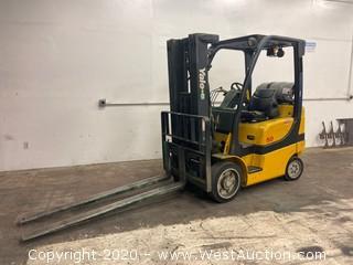 Yale 4700 lb Propane Forklift GLC050VXNVSE083