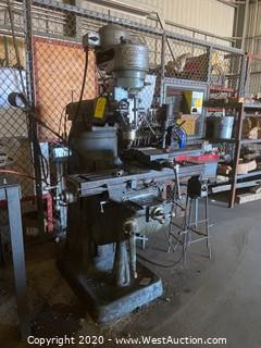 Bridgeport Vertical Mill Milling Machine 60857