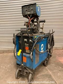 Miller CP-300 DC Mig Welder with Millermatic D-54A Wire Feeder Control Box