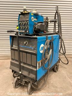 Miller Deltaweld 452 Welder with Miller 60 Series 24V Wire Feeder