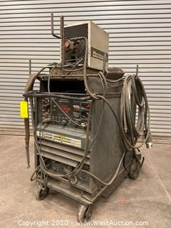 Lincoln Arc Welder Idealarc Tig 300/300 AC/DC