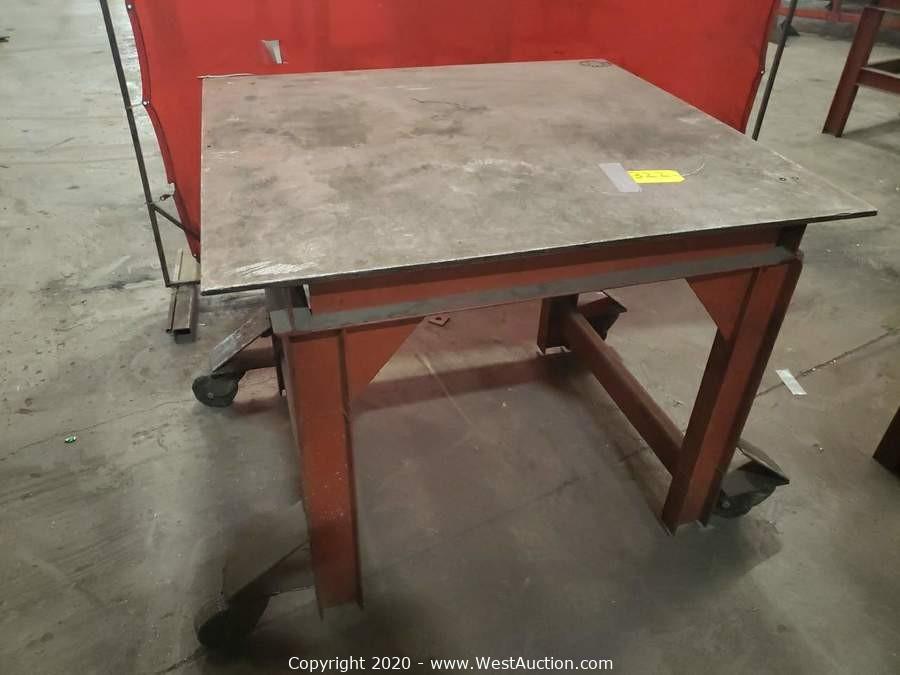Michael & Company Precision Metal Fabricators Online Auction