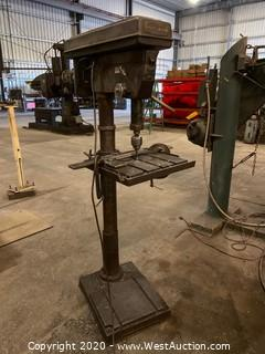 Central Machinery 12 Speed Floor Production Drill Press