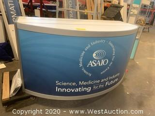 Lighted Reception Counter for Events