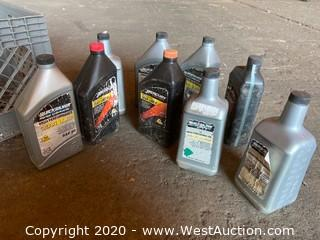 (9) Bottles of High Performance Gear Lube