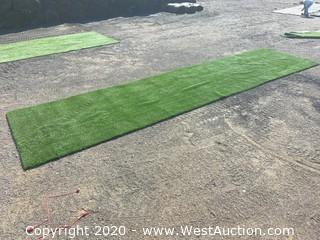 (1) Strip of Commercial Grade Artificial Grass/Lawn Turf - 30' x 7.5'