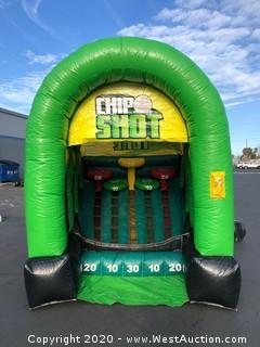 Inflatable Chip Shot Game