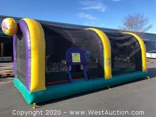 Cannon Ball Inflatable Game