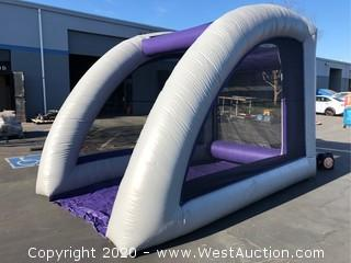 Universal Inflatable Game Cage
