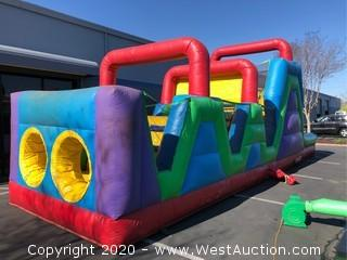 Wacky 40' Obstacle Course