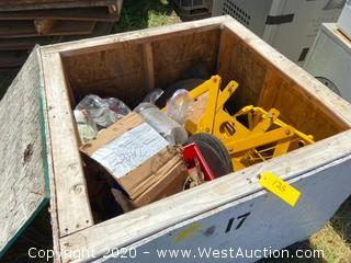 Crate of Drum Lifter and Material