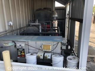Heavy Equipment Wash Bay System with Hotsy Pressure System and Water Maze Oil/Water Separator