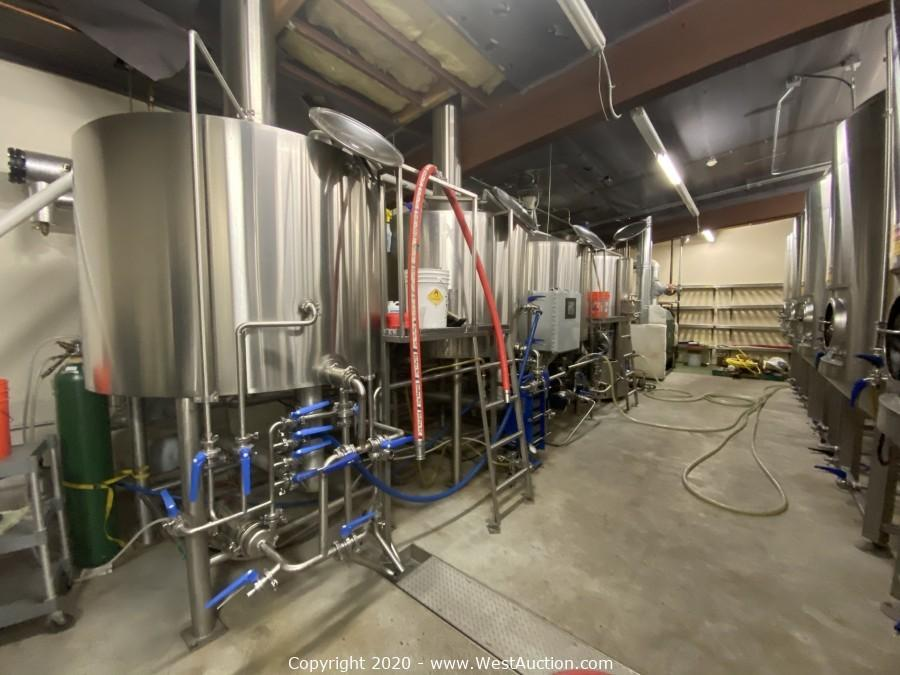 Online Auction of Nevada City Brewery & Taproom (12,800 sq. ft.)