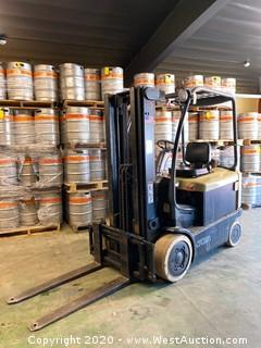 2007 Crown 5,000 lb Electric Forklift