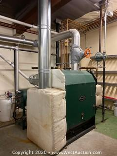Columbia 40 HP Steam Boiler
