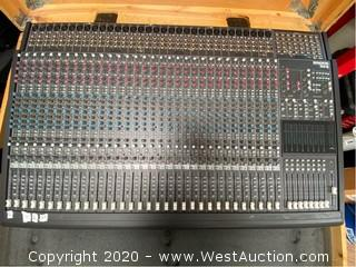 Mackie 8-Bus Mixing Console 32x8x2 in Wood Crate