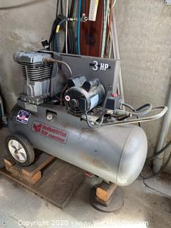 Air Compressor 3HP Single Phase 25-Gal. Tank
