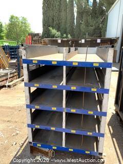 Metal Stock Rack