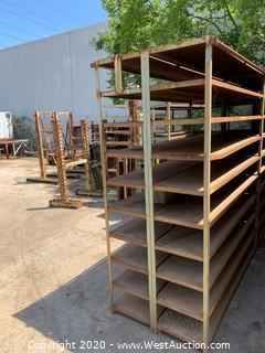 """Welded Steel Shelf Unit 148""""x36""""x88"""""""