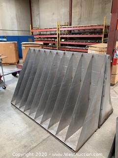 (2) Sheet Metal Racks