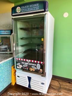 Leer Indoor Reach-In Storage Freezer