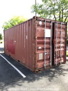 20' Sea Container (CONTENTS NOT INCLUDED)