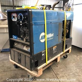 Miller Trailblazer DC 10,000W Welder on Cart