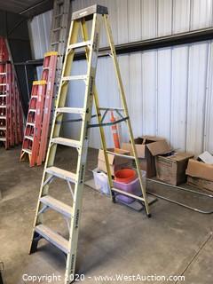 Husky 8' Fiberglass Ladder
