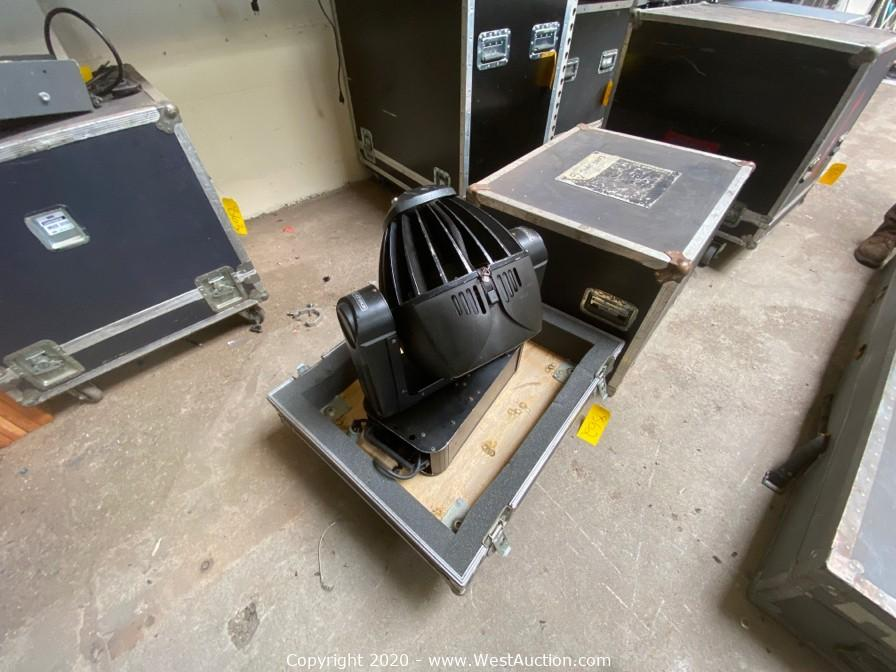 Surplus Auction of Staging, Trusses, Audio Visual Equipment from A Caballero Productions (Part 1)