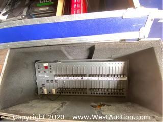 Leprecon LP-624-MPX-DA DMX 24ch Console Microplex