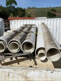 20' PVC Pipes