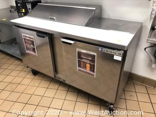 Beverage-Air 2 Door Refrigerated Food Prep Table