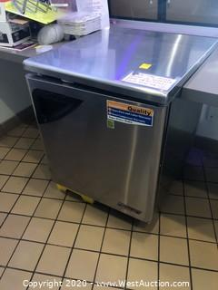 Turbo Air Solid Door Under Counter Freezer