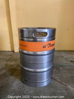 (1) 15.5 Gallon Keg