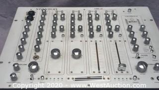 Stanton VRM-10 Tube DJ Mixer silver rack mountable
