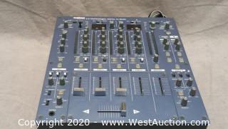 Tascam X-9 4-channel DJ mixer