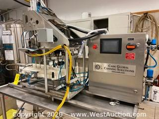 Cask Global Canning Solutions Automatic Canning System
