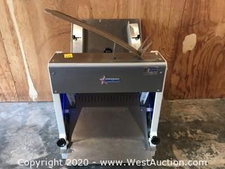 Omcan Commercial Countertop Bread Slicer