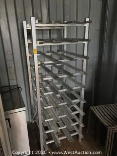 Stainless Steel Tray Rack