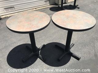 (2) Circular Tables