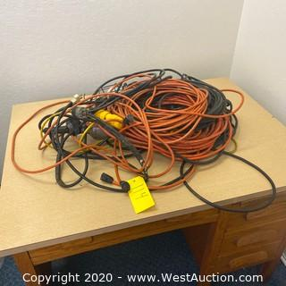 (4) Extension Cords/Work Light Cords