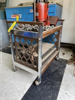 Utility Cart with Chain
