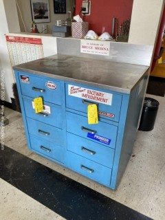 Mechanic's Tool Cabinet w/ 8 Drawers (Contents Not Included)