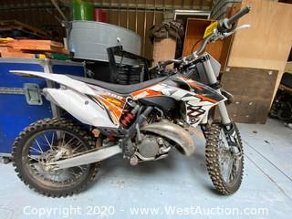 2011 KTM Racing Dirt Bike