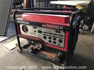 Honda EB 5000X Gas Powered Generator